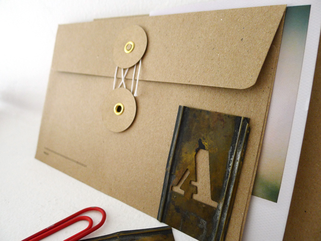 KRAFT envelopes (regular with string / brown)