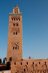 Koutoubia Mosque ( ), Marrakech, Maroc (Morocco) (Loc BROHARD) Tags: africa sahara minaret mosque moro