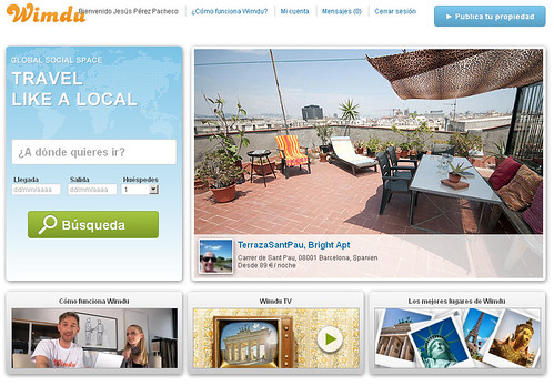 Alojamientos baratos en todo el mundo con Wimdu