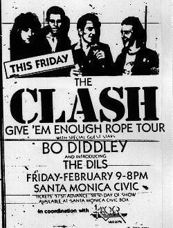 Clash Bo Diddley Santa Monica Civic