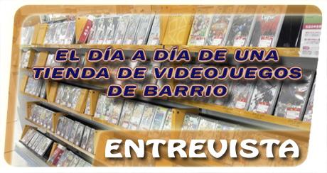 Banner entrevista tienda videojuegos