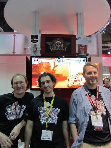 E3 Booth Team