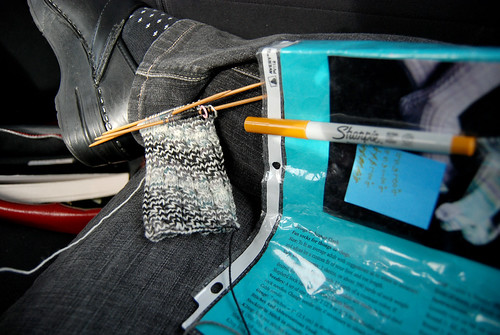 Knitting in the Car
