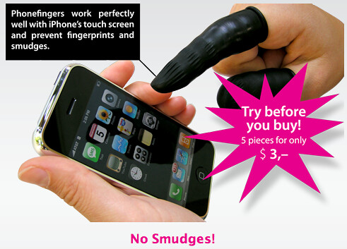 Phone Fingers - The Worst iPhone Accessory Ever 1