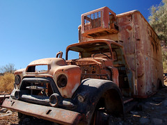 Old Weathered Truck (Bill Gracey) Tags: mexico rust bajacalifornia oldweatheredtruck