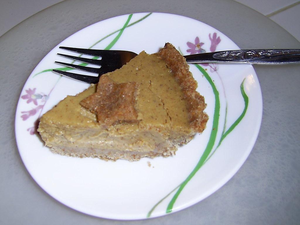 Healthy Pumpkin pie (and tasty too!)