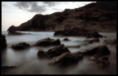 a place among the stones (Ferran.) Tags: sea nature water mar spain stones natura almeria cabodegata roques mairebrennan splendiferous passionphotography davyspillane atomicaward
