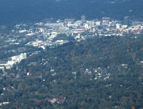 asheville city from afar