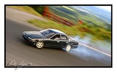Stu drifting Ceffo on home course. Ebisu (Shenanigans in Japan) Tags: japan nissan stu stirling smoke ken stuart prefecture ebisu circuit fukushima jdm drifting drift  ceffeiro