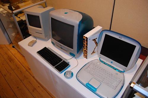 Vintage Computing Museum - Macintosh Classic, iMac, iBook