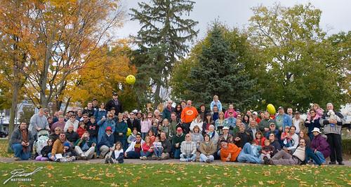 WWFM Michigan Flash Mob Event Group Photo