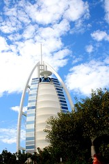 Burj and Clouds (From Afghanistan With Loveّ) Tags: city travel building architecture skyscraper perfect downtown dubai photographer gulf uae east arab tall middle burj the zeerak hamesha javaid