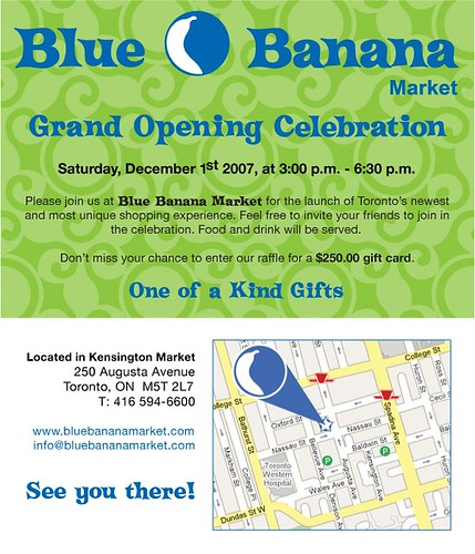 Blue Banana invite