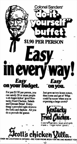 KFC advertisement