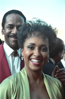 Tim Reed and Daphne Maxwell
