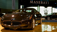 Maserati 2008 GranTurismo at the 2008 Los Angeles Auto Show photo 93 (Candid Photos) Tags: italy car automobile autoshow maserati laautoshow granturismo pininfarina v8engine losangelesautoshow maseratigranturismo designedbypininfarina 2008maserati 2008laautoshow 2008losangelesautoshow maserati2008granturismo wwwgranturismoisbackcom granturismo42l90v8engine alloycylinderblockandheads 4valvespercylinder twinoverheadcamshafts lowpressurevariablephaseintakecams peakpower405bhp954bhpliter stainlesssteelexhaustsystem mechanicalcatalysers selfadaptingautomatictransmission drivebywireelectronicallycontrolledaccelerator 49frontand51rearweightdistribution enginedisplaement4244cm maximumpower405hp7100rpm peaktorque340lbft47kgm4750rpm topspeed177mph 060acceleration51seconds 2008autoshow