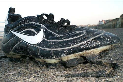 Football boot.
