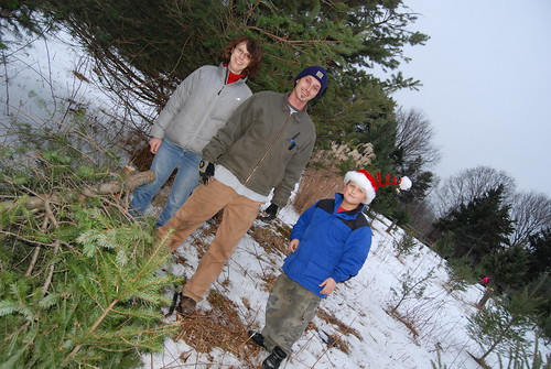 Group Photo N, G & The Tree Cutter