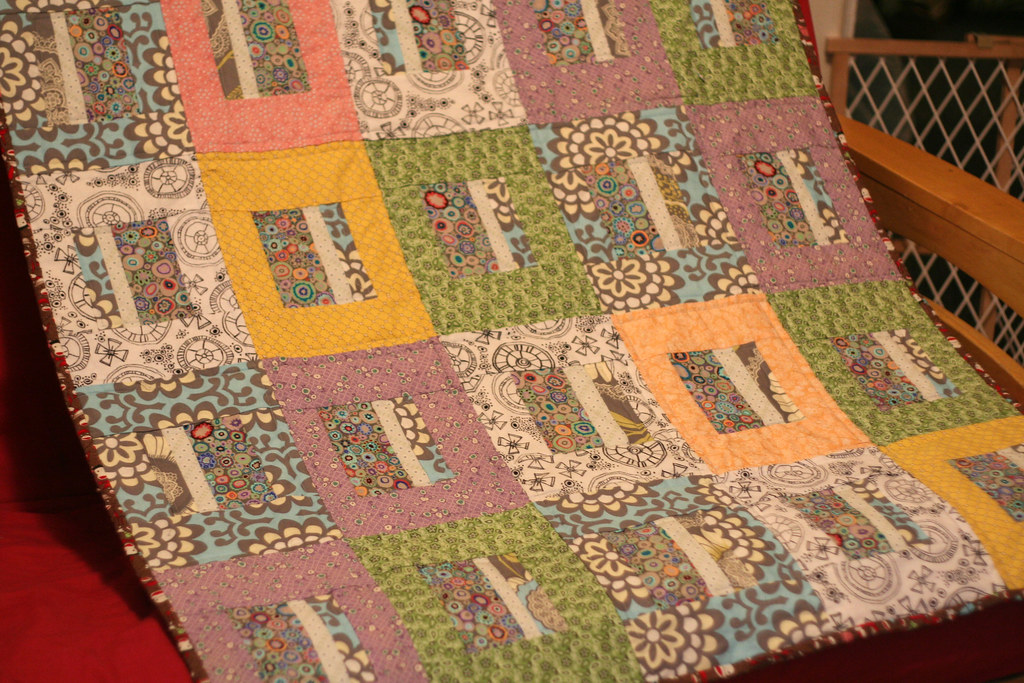baby quilt for Ben