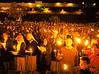 timezone 11 Israel-jerusalem Chrisians make a midnight prayer