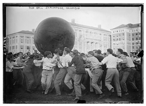 Push Ball Scrimmage, Columbia (LOC)