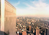 WTC North Tower seen from South Tower 1984 (happyarm) Tags: nyc worldtradecenter 1984 wtc