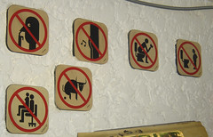 prohibido (liss_mcbovzla) Tags: sign funny aviso seal divertido gracioso
