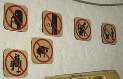 prohibido (liss_mcbovzla) Tags: sign funny aviso señal divertido gracioso