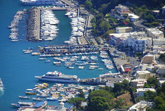Marina Grande, Isle of Capri (Ray .) Tags: travel sea italy mountains boats capri italia sailing campania napoli naples soe marinagrande isleofcapri supershot ultimateshot marinagrandeisleofcapri marinagrandedicapri
