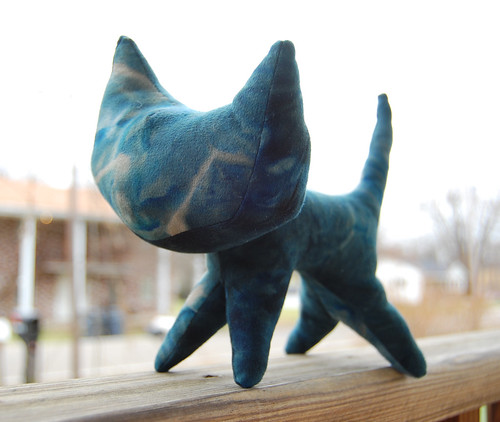 Blue Suede Kitty