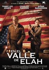 Poster En el valle de Elah