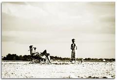 Memories (deep shot) Tags: boy blackandwhite beach nikon key florida grandpa siesta 18200mm deepshotphotography