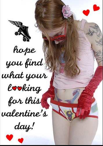 Schön Pussy Venom, Etta Maims, And Krush Puppy Made These Sweet Valentineu0027s Day  Cards For All Those Derby Dame Fans Out There. Send One To Your Favorite  Honey.