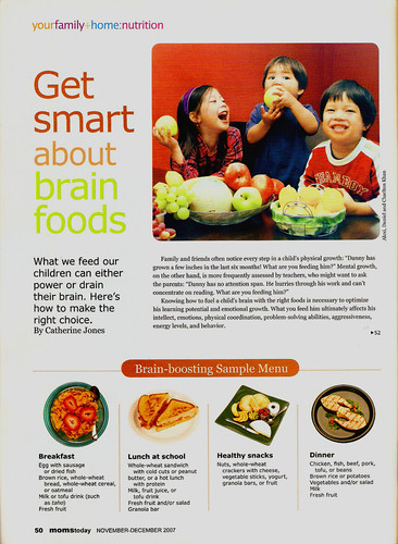 MomsToday BrainFood  article Nov07