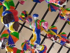 Payasos de papel mach - Guanajuato Mxico 2008 01943 (Lucy Nieto) Tags: travel viaje wallpaper colors mxico paper mexico colours background colores creativecommons guanajuato papel clowns artesana doloreshidalgo artcraft payasos artesanamexicana