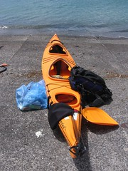 Packing the kayak Photo