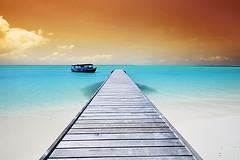 Untitled (muha...) Tags: life morning travel bridge blue sea orange white holiday beach lookin island sand nikon break path turquoise nowhere away filter maldives dhoni orangefilter maldiveislands muha nikonstunninggallery nikonnx platinumphoto muhaphotos