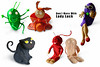 Superstitious Clay (zoppelganger) Tags: toys figurines clay sculpey superstitions