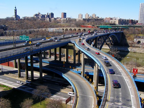 Approach Ramp to the Alexander Hamilton Bridge, Bronx, New York City