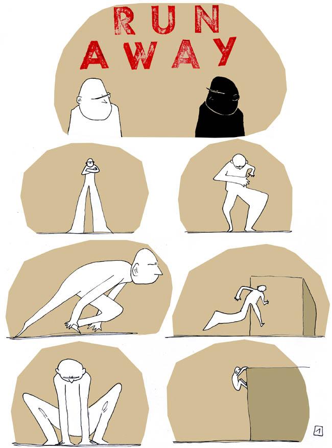Run away 01