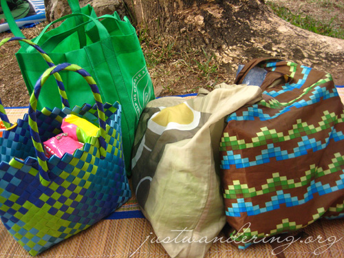 Re-usable ecobags