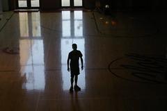 mystery man. (annie christine;) Tags: boy man mystery dark person waiting bright mysterious sillhouette backlighting
