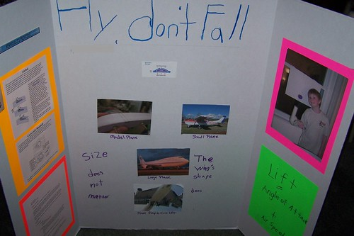 Science Fair Display