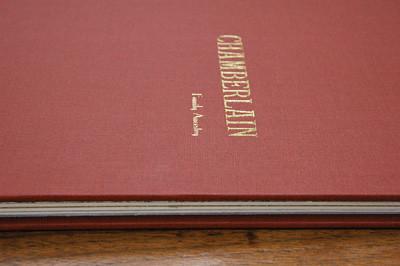 chamberlain - cover stamping