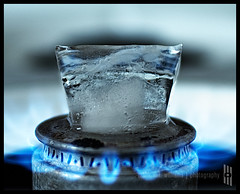 Fire & Ice (malik ml williams) Tags: stilllife ice fire stove activeassignmentweekly malikmlwilliams|photography malikwilliamsphotocom