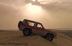 (supra_qatar) Tags: sand nissan qatar sealine  udaid  supraqatar nissan90 nissan91 nissanqatar