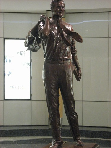 George Bush Sr. Statue @ Houston Airport