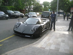 Pagani Zonda in Geneva (nickgraywfu) Tags: paganizonda
