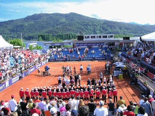 ATP-Tennis: Das Ambiente in der Werzers-Arena war super.