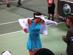 ana ivanovic wet (monmonch) Tags: wet tennis wtf ivanovic serves khalifastadium womentennis qatartotalopen qataropen